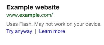 Google предупредит пользователей о незагружаемых сайтах