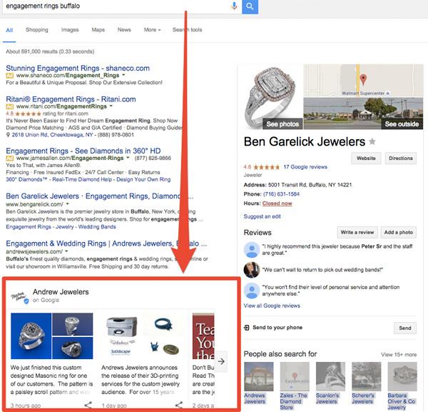 Эксперимент поисковой выдачи Google