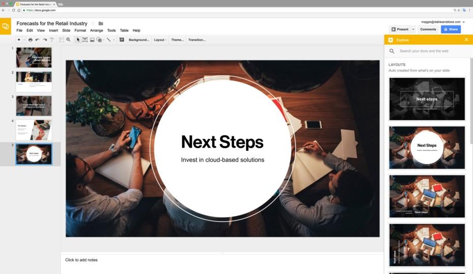 Новые «умные» функции в Google Docs
