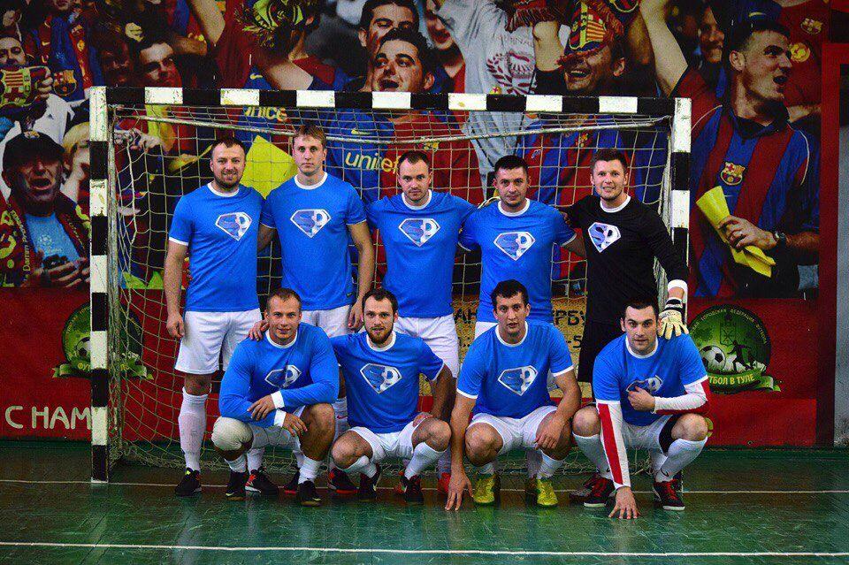 Команда SeoProduction на чемпионате по мини-футболу